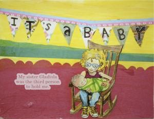 It's a baby. Copyright Talcott Broadhead, 2013.